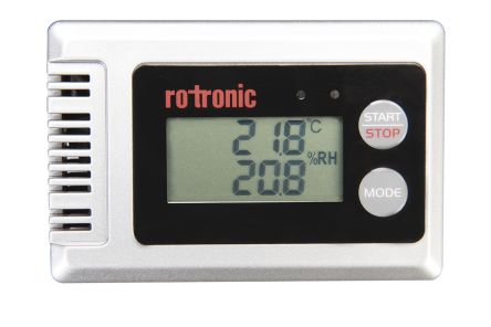 Rotronic Instruments HL-1D-SET Compact Data Logger for Humidity, Temperature Measurement