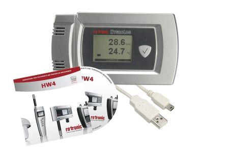 Rotronic Instruments HL-20D-SET Digital Data Logger, Max Temperature +60°C, Max Humidity 100%RH