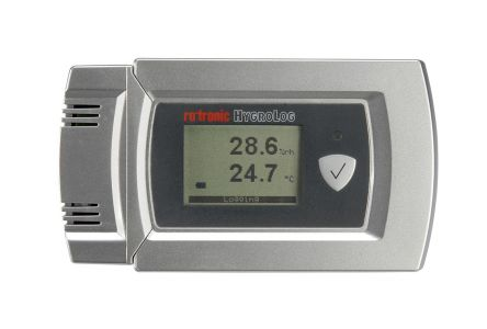 Rotronic Instruments HL-20D Digital Thermohygrometer, Max Temperature +60°C, Max Humidity 100%RH