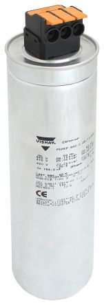 Vishay Power Factor Correction Capacitor (PFC) 3 x 82.9μF 12.5kvar 3