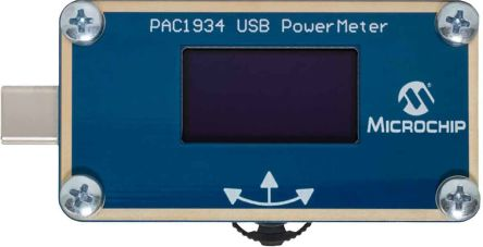 Microchip, PAC1934 USB C Power Meter Development Board for PAC1934 - ADM00921