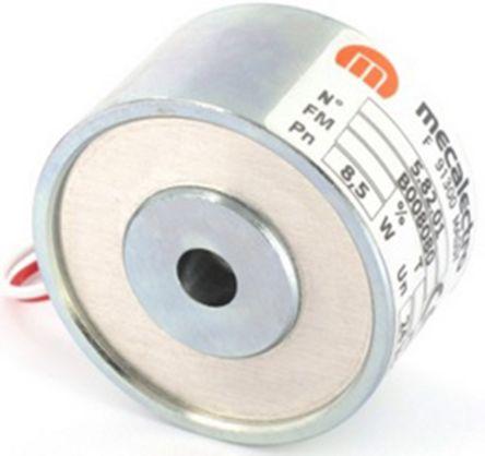 Mecalectro Holding Magnet, 27daN, 24V dc