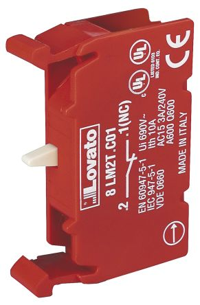 Lovato 8LM2T Contact Block - NC 690 V
