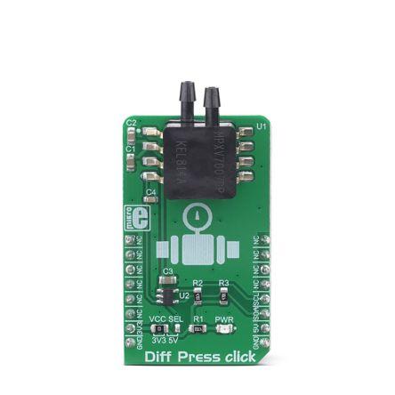 MikroElektronika MIKROE-3332, Diff Press Click Pressure Sensor for MPXV7007DP