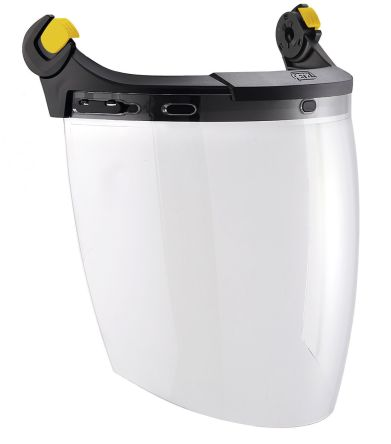Flip Up Anti-Fog PC Attachable Face Shield