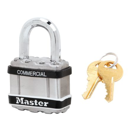 Master Lock M1STS All Weather Stainless Steel Padlock 44mm