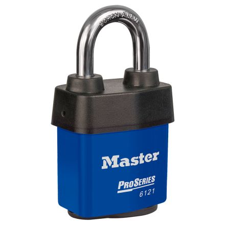 Master Lock 6121BLU All Weather Stainless Steel Padlock Keyed Alike 54mm