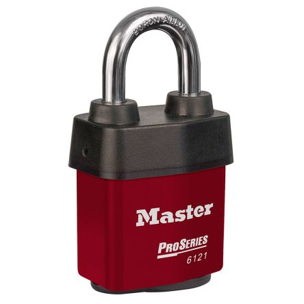 Master Lock 6121RED All Weather Stainless Steel Padlock Keyed Alike 54mm