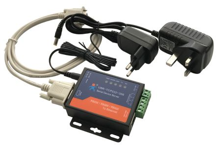 ELC RSETHER Adapter, Accessory Type LAN Adapter, For Use With RS232, RS422 to Ethernet, RS485