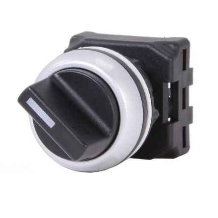 RS PRO Selector Switch Head - 2 Position, Spring Return, 22mm cutout