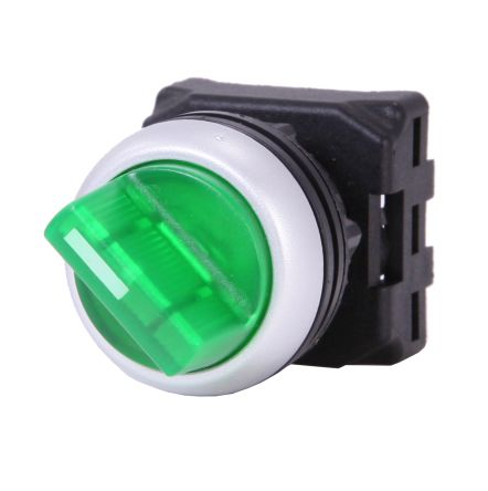 RS PRO Illuminated Selector Switch Head - 3 Position, Spring Return, 22mm cutout