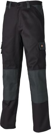 Dickies Everyday Black/Grey Trousers Waist Size 32in