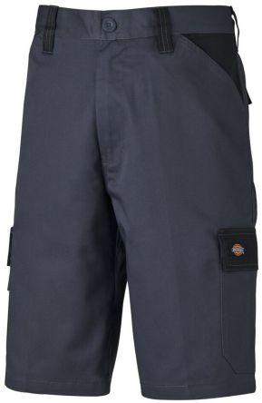 Dickies ED24/7SH Grey/Black Shorts Waist Size 34in