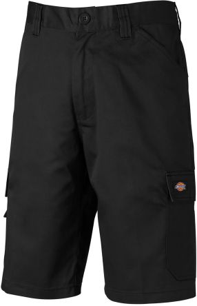 Dickies ED24/7SH, Everyday Black Shorts Waist Size 32in