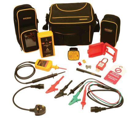 TB118KIT1 Voltage Indicator & Proving Unit Kit <3.5mA 600V ac/dc, Kit Contents 8mm Clip Locked Out Tag, EZ650 Earth