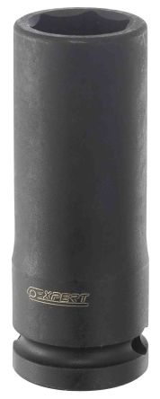 Expert by Facom 10mm, 1/2 in Drive Impact Socket Set Hexagon, 78 mm length