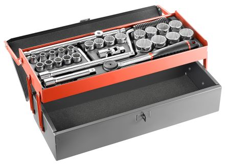 Facom S.442EP 27 Piece Socket Set Square Drive