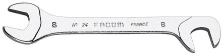 Facom 10mm x 10mm Double Ended Open Spanner