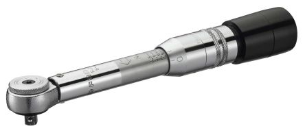 Facom 1/4 in Square Drive Click Torque Wrench, 1 → 5Nm