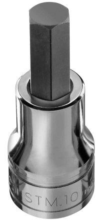 Facom 5mm, 1/2 in Drive Impact Socket Set Hexagon, 60 mm length