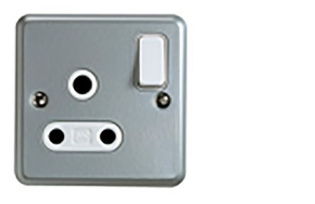 MK Electric 1 Gang Electrical Socket, 1 Pole, 15A, BS 546