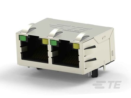 TE Connectivity, Female Cat5 RJ45 Connector