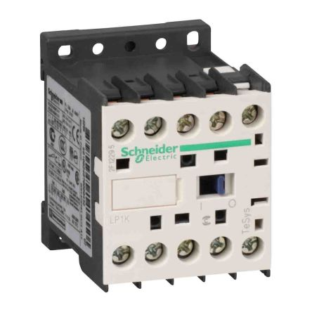 Schneider Electric 3 Pole Contactor - 20 A, 24 V dc Coil, TeSys, 3NO, 4 kW