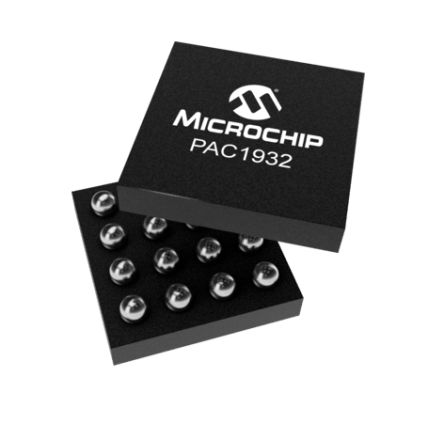 Microchip Technology PAC1932T-I/J6CX, High Side Current Monitor 16-Pin, WLCSP