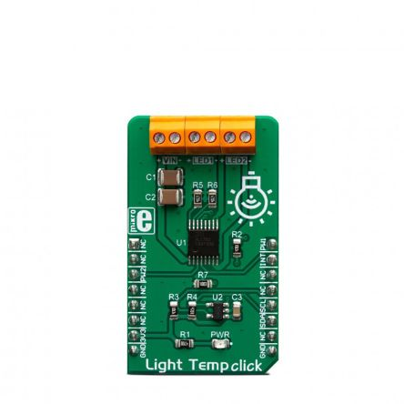 MikroElektronika MIKROE-3399 Light Temp Click LED Driver for AL1782