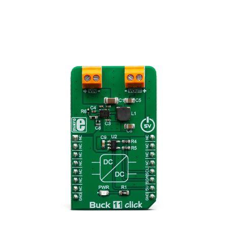 MikroElektronika MIKROE-3438 Buck 11 Click Step-Down Converter for LMR36015