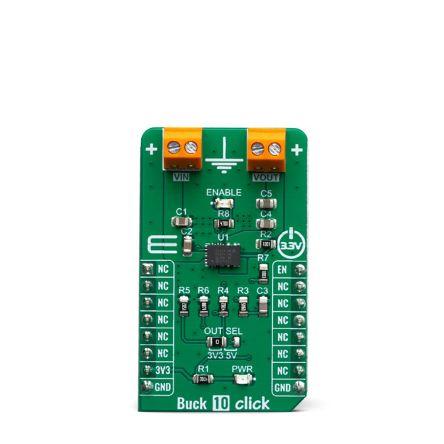 MikroElektronika MIKROE-3569 Buck 10 Click Power Module for MPM3632C