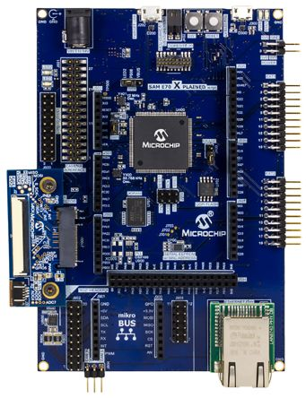 Microchip SAM E70 Xplained Ultra Evaluation Kit Arduino, USB Evaluation Kit DM320113