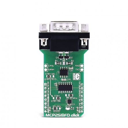 MikroElektronika, MCP2518FD Click for MCP2518FD - MIKROE-3060