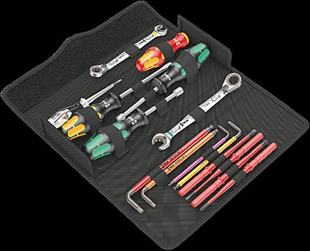 Wera 15 Piece Boxed Plumbing Tool Kit VDE Approved