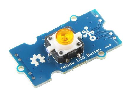 Seeed Studio, Grove - Yellow LED Button - 111020045