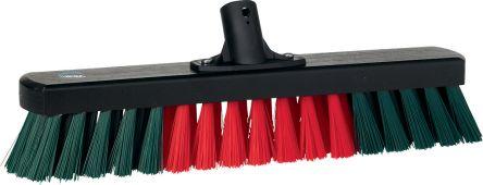 Garage Broom, 440 mm, Hard, Black