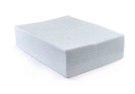 RS PRO Oil Spill Absorbent Pad 30 L Capacity, 50 Per Package