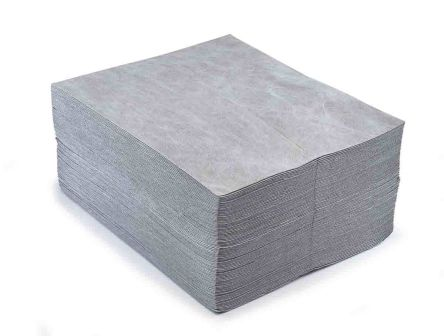 RS PRO Maintenance Spill Absorbent Pad 60 L Capacity, 100 Per Package