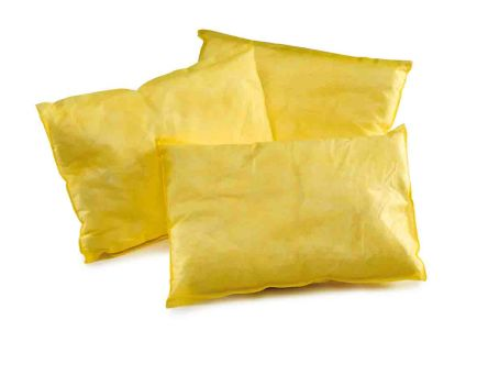 RS PRO Chemical Spill Absorbent Pillow 28 L Capacity, 8 Per Package