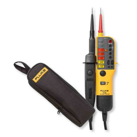 Fluke T110 Continuity Checker with RCD Trip Test Continuity Check CAT III 690V, CAT IV 600V