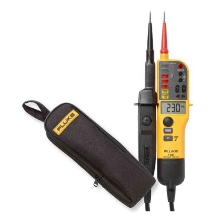 Fluke T130 Continuity Checker with RCD Trip Test Continuity Check CAT III 690V, CAT IV 600V