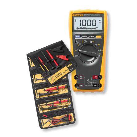Fluke 179 Handheld Digital Multimeter, 10A ac 1000V ac 10A dc 1000V dc 50MΩ