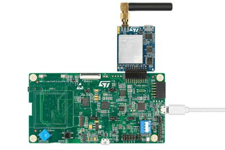 STMicroelectronics P-L496G-CELL02, STM32 Discovery Pack for LTE IoT Cellular to Cloud 2100MHz