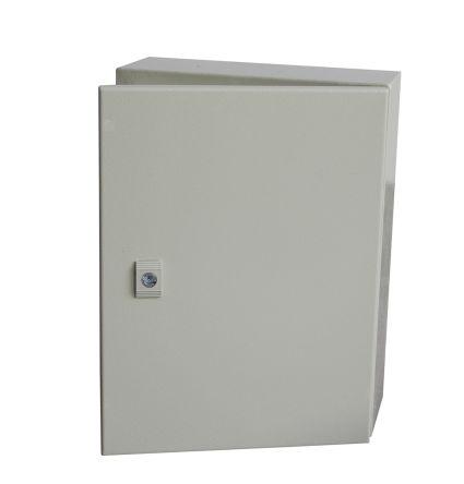 RS PRO Steel Wall Box, IP66, 200mm x 500 mm x 500 mm