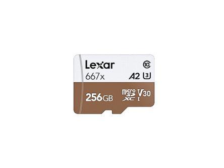 Lexar Professional 256Gb 667X microSDXC