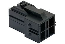 Molex CP-6.5 Female Connector Housing, 6.5mm Pitch, 4 Way, 2 Row