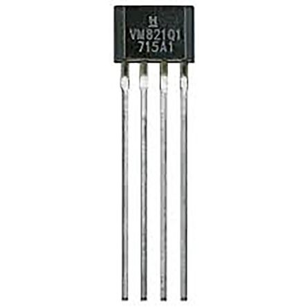 VM821Q1 Honeywell, Hall Effect Sensor, 4-Pin SIP