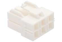 Molex CP-6.5 Female Connector Housing, 6.5mm Pitch, 6 Way, 2 Row