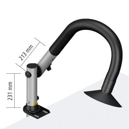 Weller Zero Smog TL KIT-1S WF Solder Fume Extractor