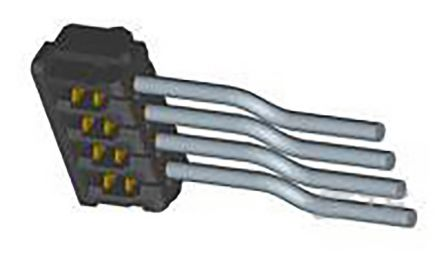 TE Connectivity AMP CT Female PCB Connector Housing, 2mm Pitch, 2 Way, 1 Row